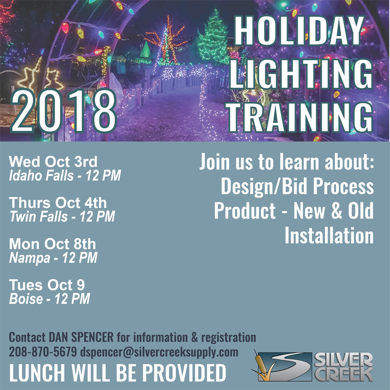 Holiday Lighting Training - Idaho Falls