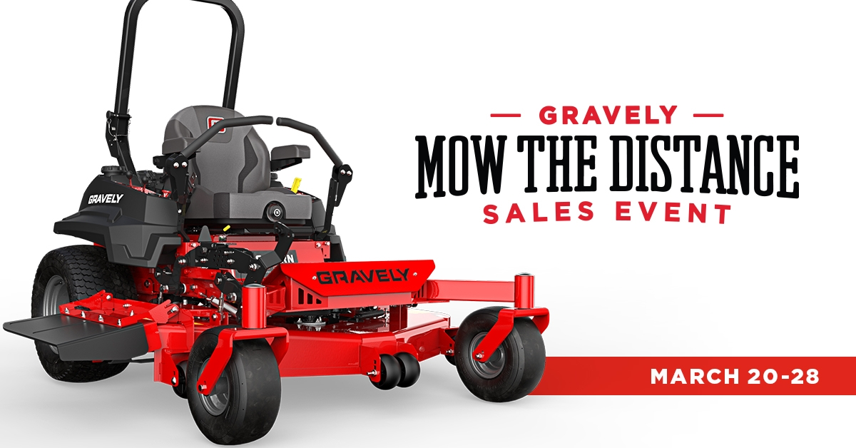 Mow the Distance Sales Promotion