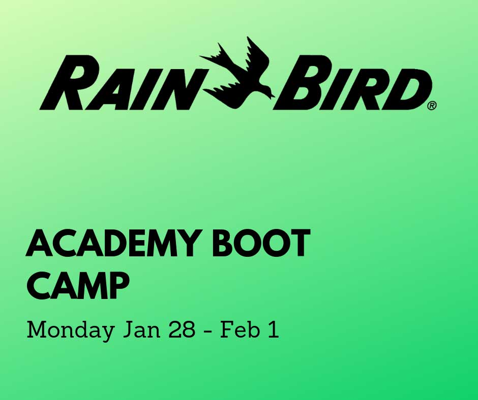 Rain Bird Academy Boot Camp