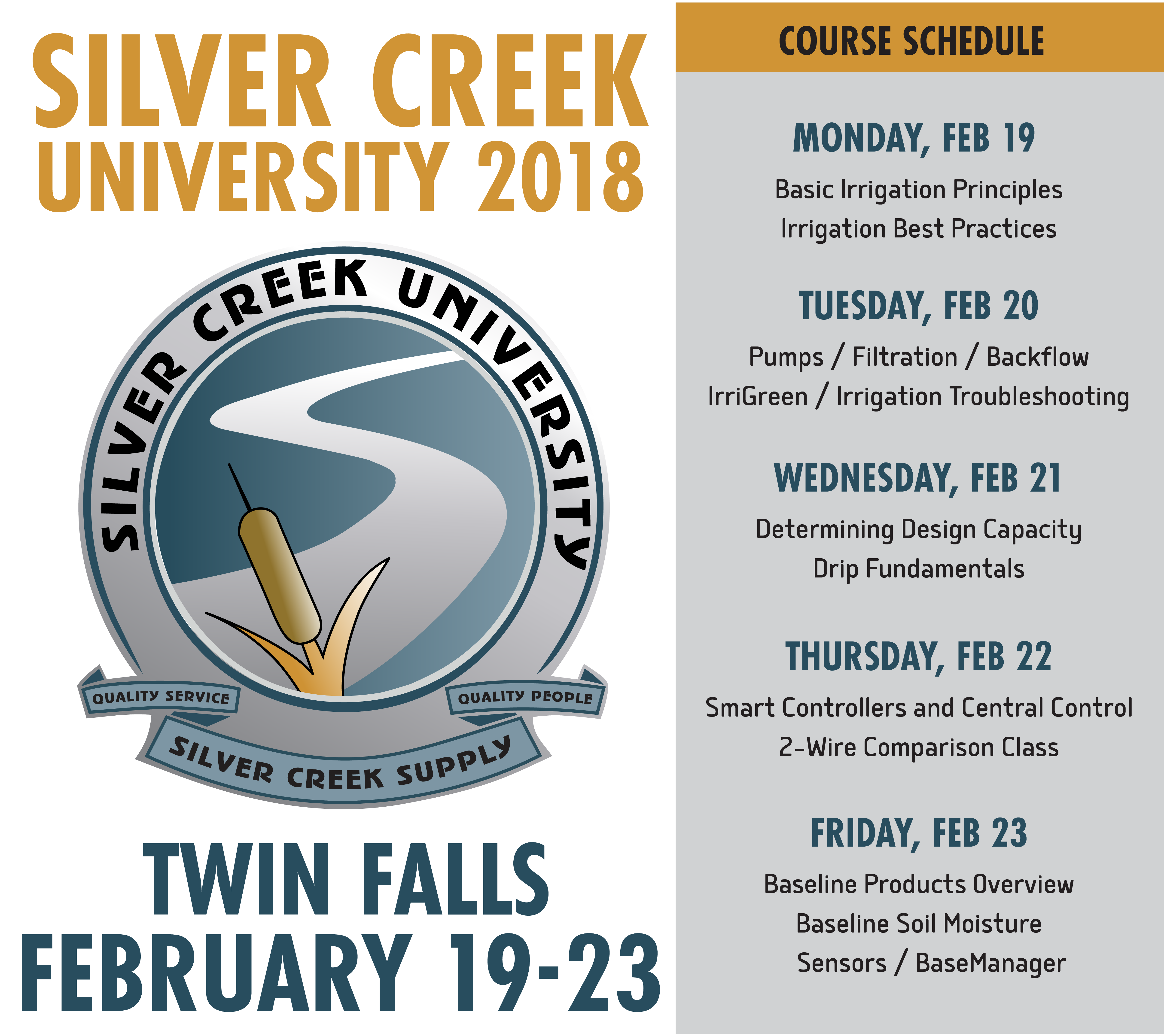 Silver Creek University - Twin Falls